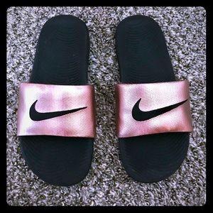 Women's Nike slides- 8.5
